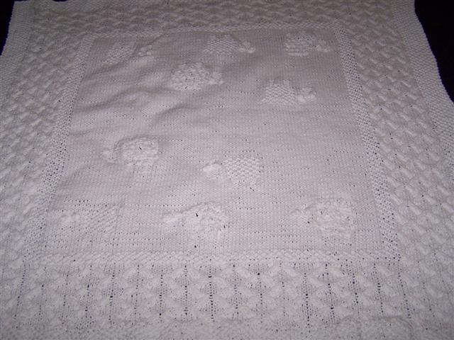 Peg's Sheep Blanket