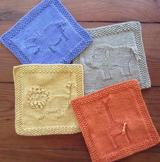 'ZOO'ology Wash Cloths