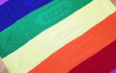 Color Me Dreaming Baby Blanket Set